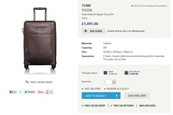 Airline Luggage Checker