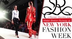 J.Renee Partners with Fashion Designer Malan Breton