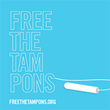 Follow Free the Tampons on Twitter (@freethetampons) and join the movement.