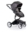 The xari is a full featured and adjustable stroller that folds down with a simple press of a button and lift of a lever