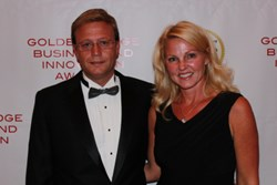 Michael Tetterton, President, and Marsha Couch, CFO, of leading corporate travel services provider Creative Lodging Solutions