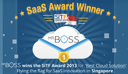 HRBoss triumph at annual SiTF awards, taking home the trophy for 'Best Cloud Solution'