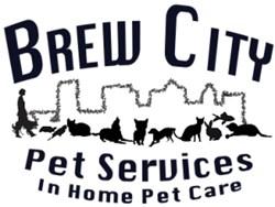 Brew City Pet Services logo Pet sitting and Dog walking Milwaukee