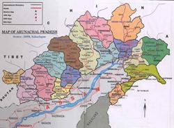 Arunachal Pradesh, India, Home of Galo Tribe