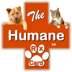 The Humane Rx Card was created to help improve medication adherence in America, and at the same time, fund the cause of animal shelters, Humane Societies, and other animal advocacy groups, through a $2 donation made by Cause Rx, for each discounted Rx.