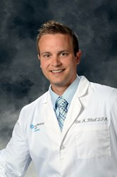 Dr. Lee M. Hlad has joined OhioHealth Grant Medical Center's Podiatry Medical Staff