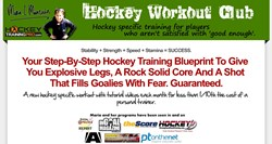 workouts for hockey players how hockey workout club