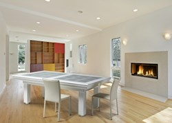 Atlanta Pool Dining Table by French Manufacturer Rene Pierre