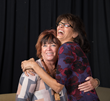 """Janet Davidson, Director and Debrianna Mansini as """"Margie"""" in GOOD PEOPLE"""