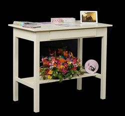Cottage-inspired Standing Desk for Crafting and Scrapbooking