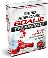 hockey goalie drills how rapid response goalie training
