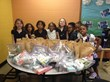 The Girl Scouts gathered 35 individual meal sacks and 22 personal care packs at last year's event.