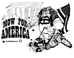 Mow for America Chris Cox tshirt