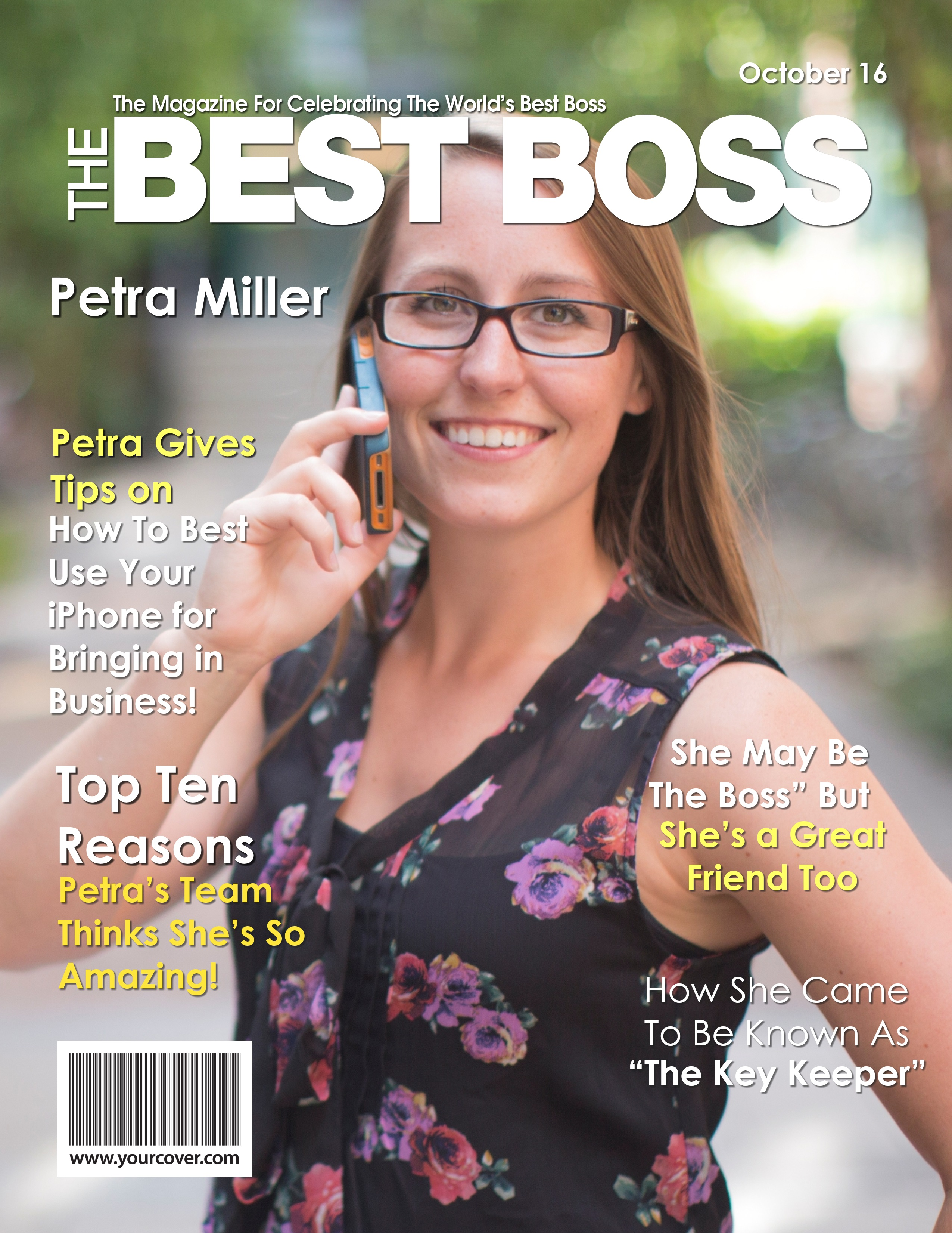 Last Minute Boss Day Gift Yourcover Offers Instant Delivery