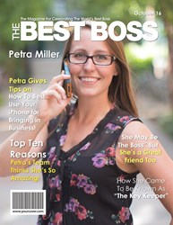 Best Boss Magazine Cover - a Unique Last Minute Boss' Day Gift