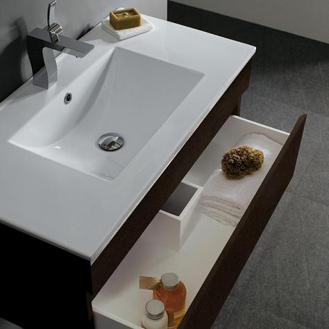 Narrow Bathroom Sink With Storage