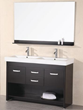 "Design Element Citrus 48"" Double Sink Bathroom Vanity Set (DEC074)"