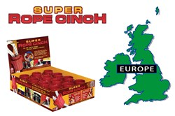 Just Right Products' Super Rope Cinch Enters Europe Retail Markets