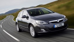 Vauxhall Astra - the most popular car bought on finance