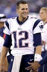 Patriots' Quarterback Tom Brady