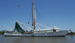 F/V Amy Claire, part of B & J Martin's fleet, will be outfitted with mini-VSAT and fleet management software from Boatracs.
