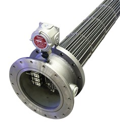 Watlow's tubular flange heaters