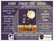 Honky Tonkin' For Heroes flyer