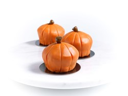 #ItsAllAboutPumpkins Bouchon Bakery Decorated Pumpkin Muffins.  Photo credit Deborah Jones.