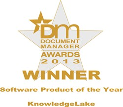 KnowledgeLake Imaging Named Software Product of the Year