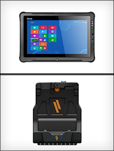 Havis Docking Station For The Getac F110 Rugged Tablet