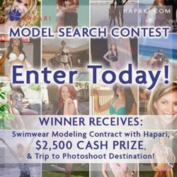 2014 Hapari Swimwear Model Search