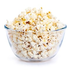 custom popcorn labels from Lightning Labels