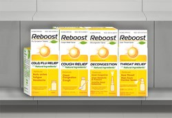 Reboost™ Cold, Cough and Flu Products