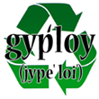 Gyploy Eco-Friendly Green Logo