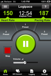 Logipace, Athletic Performance Training iPhone App, Available for...
