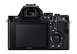 Sony a7 Mirrorless Full-Frame Digital Camera LCD