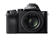 Sony a7 Mirrorless Full-Frame Digital Camera with SEL5518Z Lens