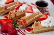 One of the most popular dishes, the Wedge Waffles