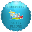 A Stay in the Country Pet Lodging Signs a Safety Pledge with The Dog...