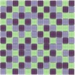 Glass Mosaic Tile Frozen Yogurt Purple Green Blend