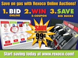 Online gasoline auctions