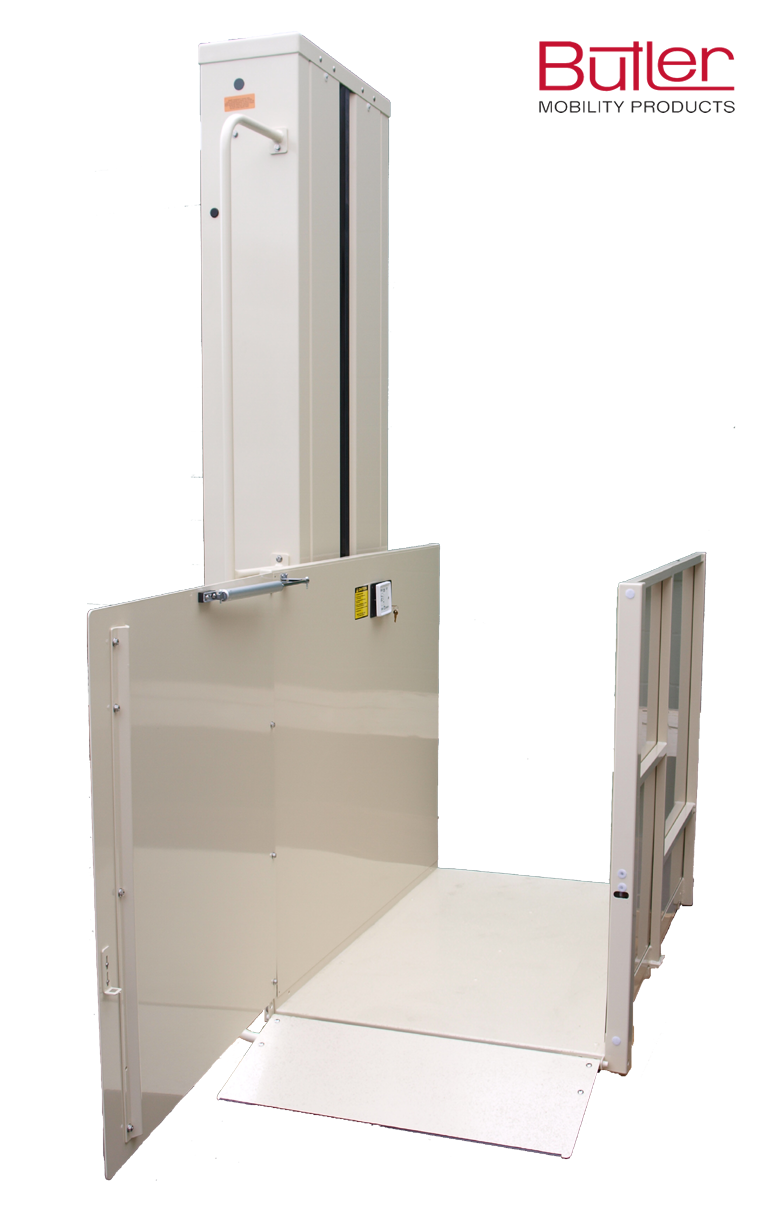 Vertical Lift Parts : New vertical platform wheelchair lifts for home independence