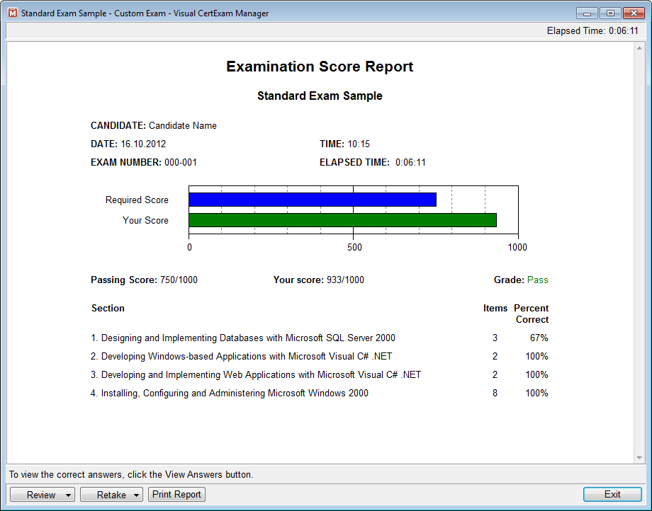VCE Team Announced Release of Visual CertExam Suite the First in ...
