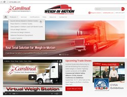 Cardinal Scale Launches New Weigh-in-Motion Highway Systems Web Site: www.wimscales.com