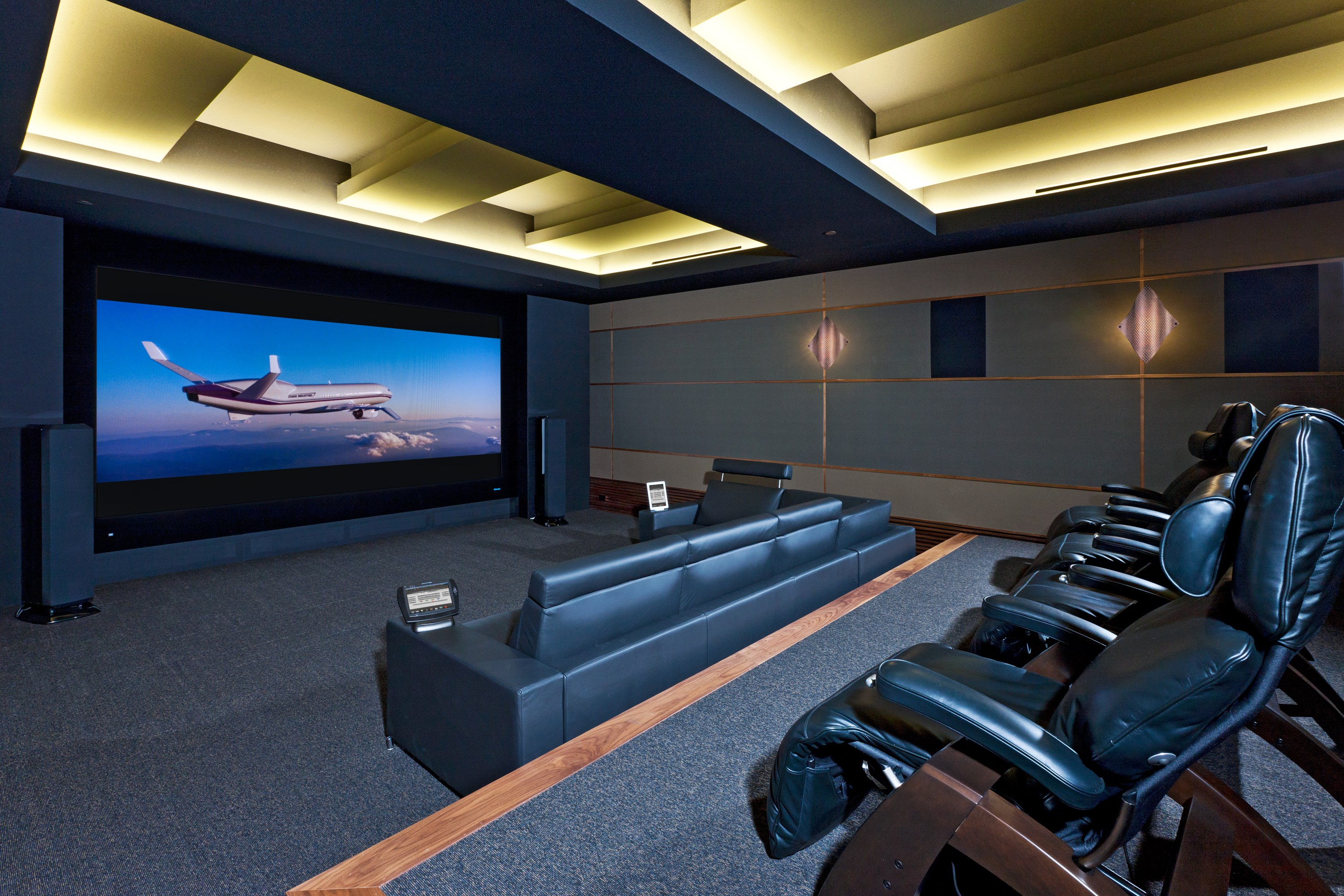 Via international gains industry wide recognition at cedia for Luxury theatre