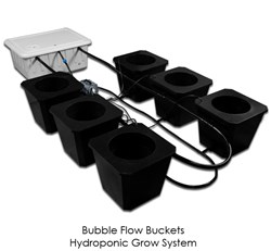 The New BubbleFlow Bucket Hydroponic System Design