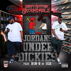 Jordans Under Dickies