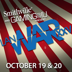 The October 2013 event marks the fourth time Smithville will be sponsoring the event and the second time to be providing the top-of-the-line fiber speed, according to Rob Ramsey with Smithville.  Smithville is expanding its previous video coverage of LAN
