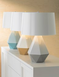 Robert Abbey Delta Duo Lamps Produced in Partnership with Lamps Plus
