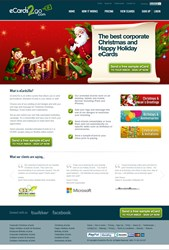 Corporate Holiday Ecards